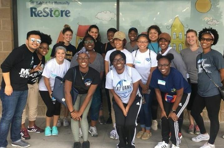 photo of group of volunteers at Habitat for Humanity's ReStore