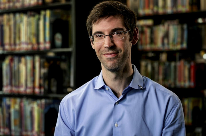Joseph Hammer, one of UK's 2021 Great Teacher Award recipients