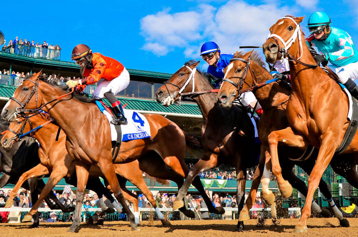 Photo by Michael Huang: Keeneland