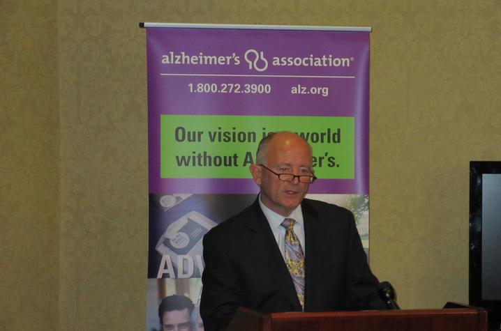 Photo of Steve Matherly, board chairman of the Sanders-Brown Center on Aging Foundation