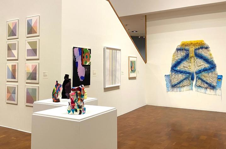 """photo of """"Coloring"""" exhibition at UK Art Museum"""