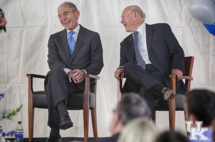 photo of President Eli Capilouto and Paul Chellgren