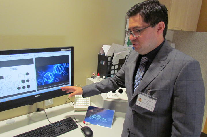 Dr. Maldonado gives a basic overview of genetic testing in relation to eye disease