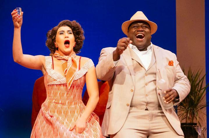 photo of Reginald Smith Jr. performing