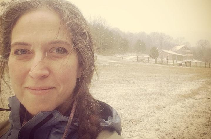 photo of Jennifer Rose in snow scene