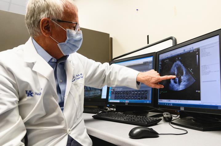 Dr. David Booth, UK HealthCare Gill Heart & Vascular Institute