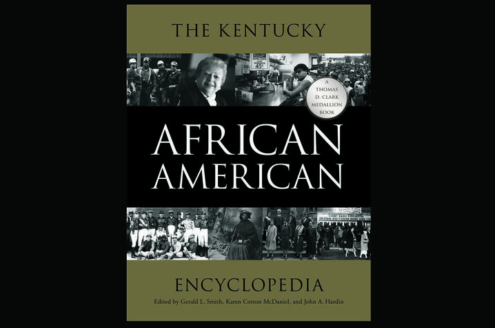 photo of cover of The Kentucky African American Encyclopedia