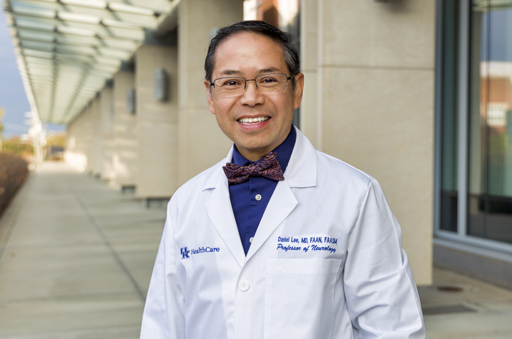 Dr. Daniel Lee, medical director for the Kentucky Neuroscience Institute | Photo courtesy of UK HealthCare