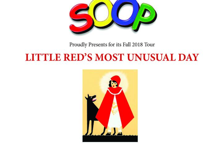 """photo of """"Little Red's Most Unusual Day"""" flier"""