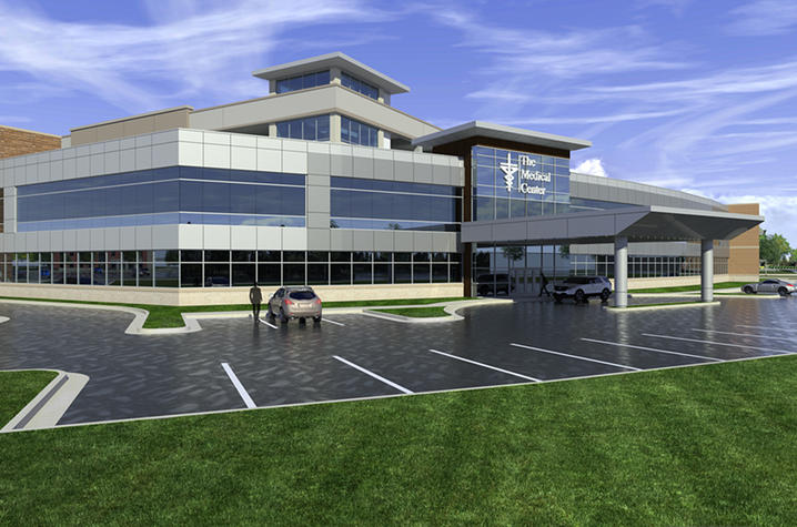 Art rendering of UK College of Medicine - Bowling Green Campus