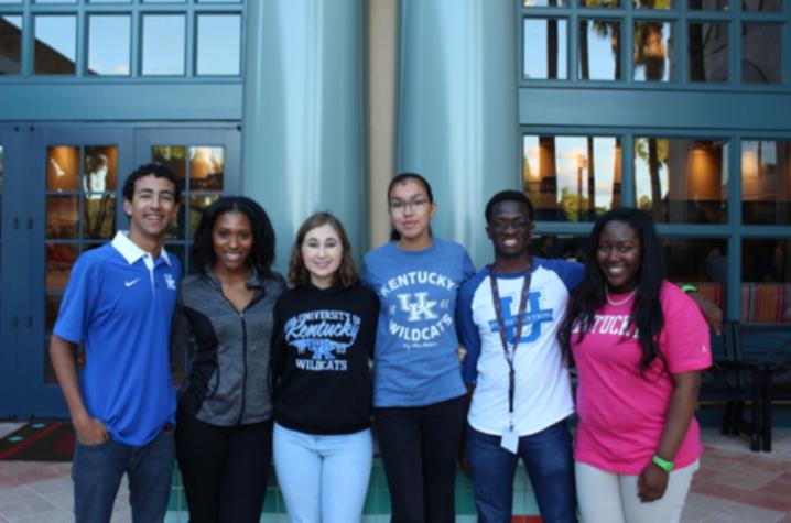 Students at Disney