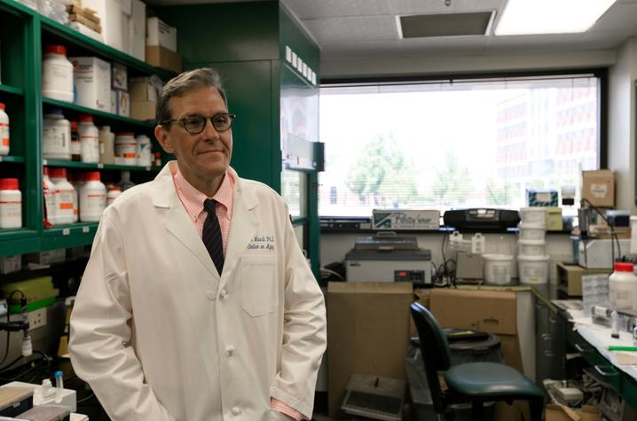 photo of Mark Lovell in lab