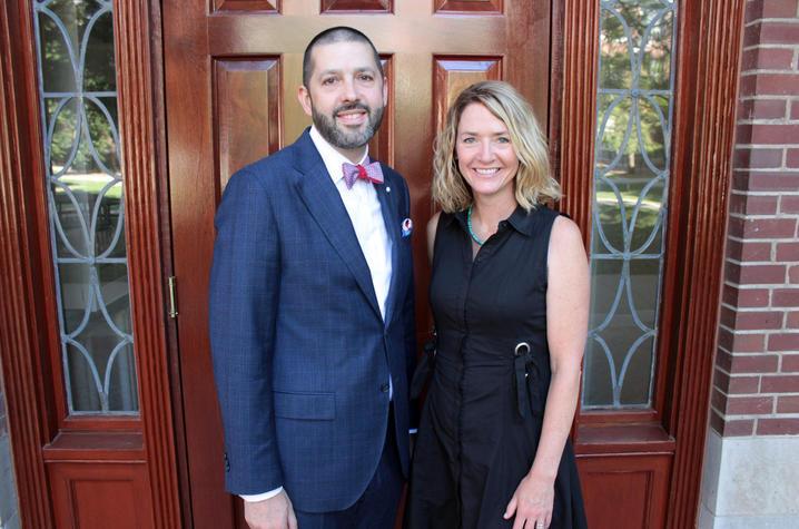 Matt Bush and Tina Studts