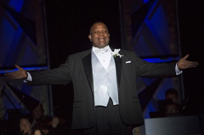 "photo of Everett McCorvey in ""Grand Night"" 2017"
