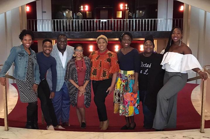 photo of UK alumni and students in Met's Porgy & Bess