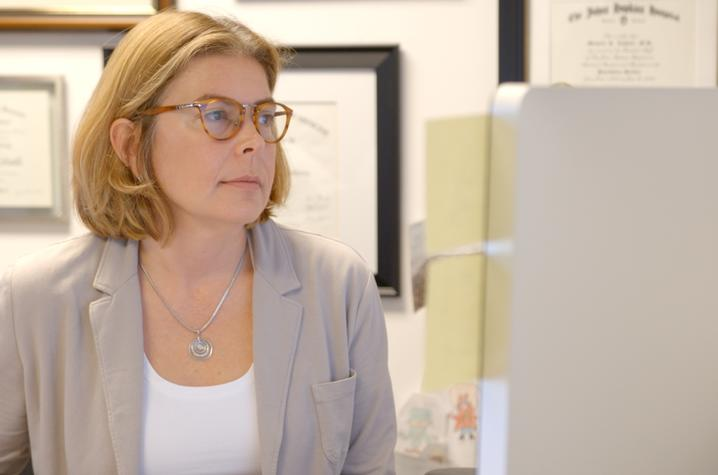 Photo of Michelle Lofwall, associate professor in the UK Center on Drug and Alcohol Research