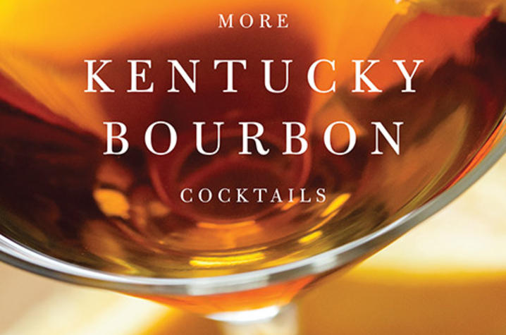 "photo of cover of ""More Kentucky Bourbon Cocktails"" by Joy Perrine & Susan Reigler"