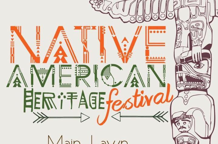 Native American Heritage Festival poster
