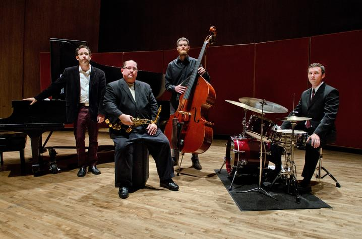 photo of Osland/Dailey Jazztet on Singletary stage