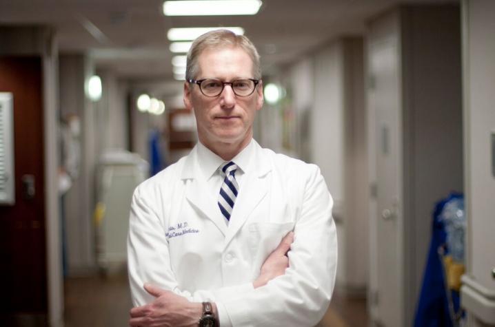 Photo of Dr. Peter Morris, UK HealthCare