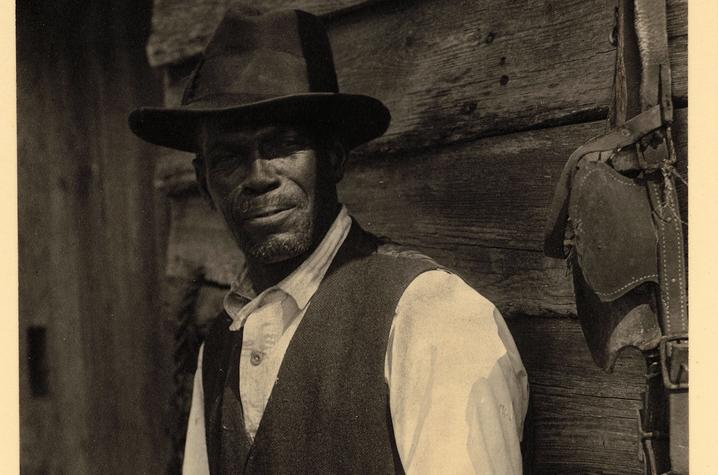 photo of man from Doris Ulmann Photographic Collection