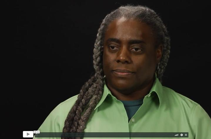 photo of oral history interview with Reinette Jones