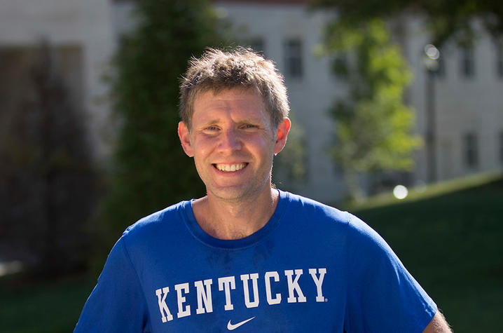This is a photo of UK Alumnus Jason Darnall