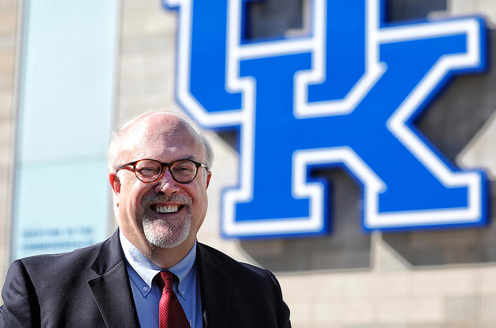 This is a photo of Jim Dinkle, UK alumnus.