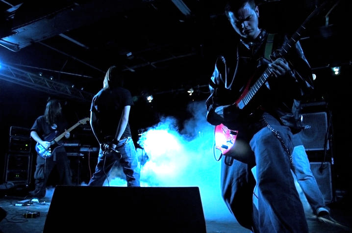 Alethea Devary photo of a rock band performing