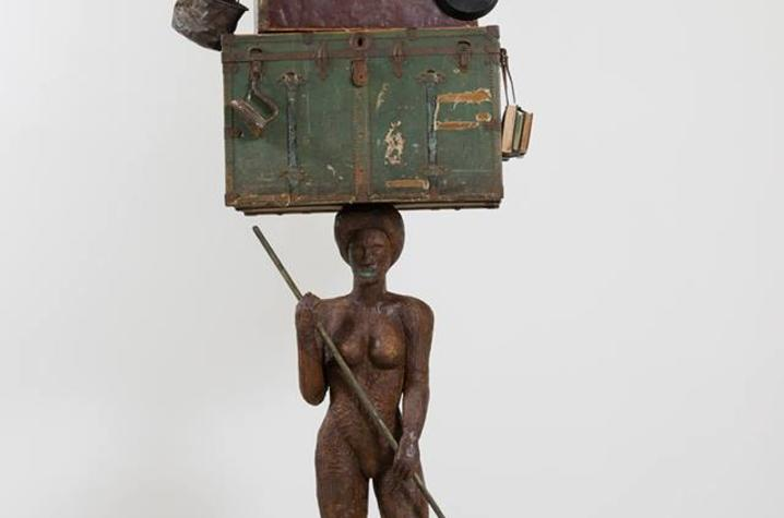 "photo of sculpture from ""Breach"" by Alison Saar"