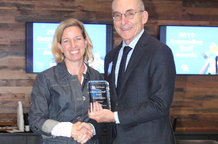Sabrina Brewer, Faculty Winner