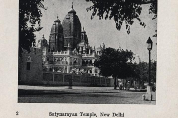 "photo of Satynarayan Temple in New Delhi from ""Views Thru the Camera"""