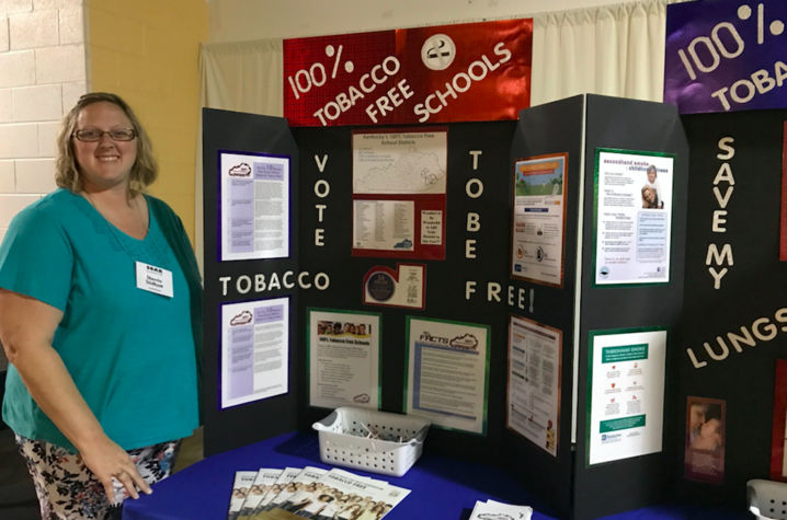 Sherrie Stidham is hoping to facilitate a transition to 100% Tobacco-Free schools in Letcher and Perry Counties