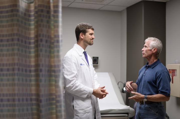 Dr. Michael Cavnar and Joe Marksteiner