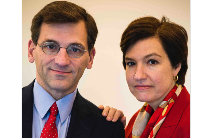 This year's Creason Lecture features renowned political journalists Peter Baker and Susan Glasser. Photo courtesy of Peter Baker and Susan Glasser.