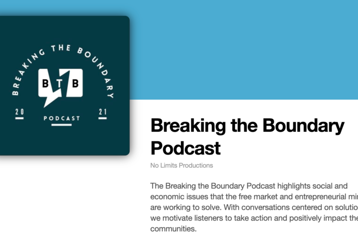 """The University of Kentucky College of Communication and Information is producing a new podcast """"Breaking the Boundary."""""""