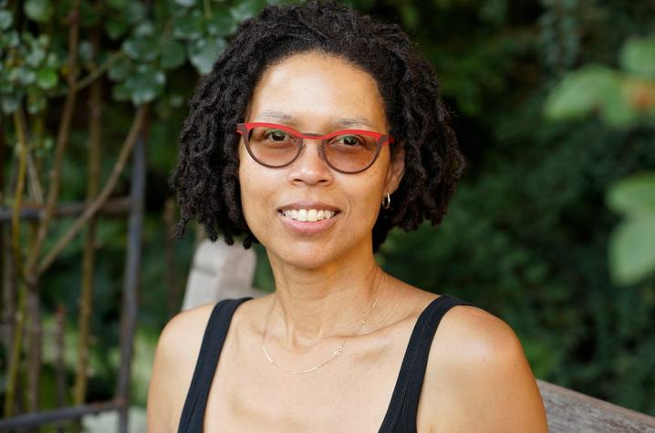 headshot photo of Evie Shockley by Nancy Crampton