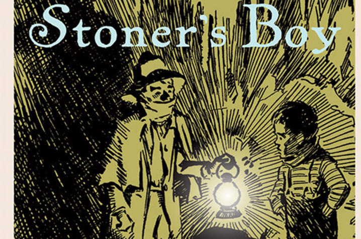 "photo of cover of ""Stoner's Boy: A Seckatary Hawkins Mystery"" by Robert F. Schulkers"