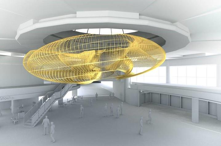 "photo of rendering of ""The Intertwining"" by Mike McKay and Liz Swanson"