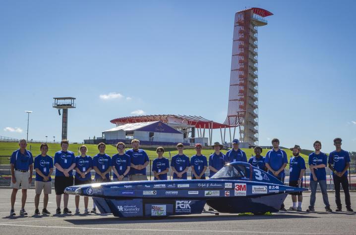 Photo of UK Solar Car Team