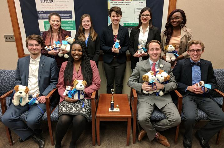 Photo of Speech and Debate Team at Butler University