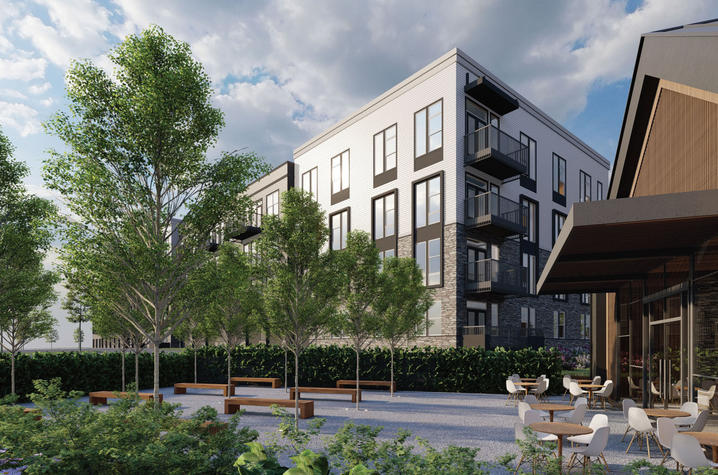 photo of rendering of FIFTEEN51 residential village