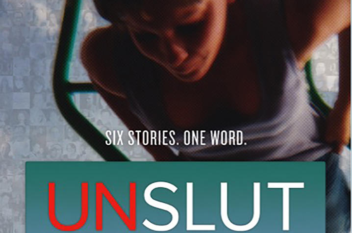 "photo of ""UnSlut"" poster"