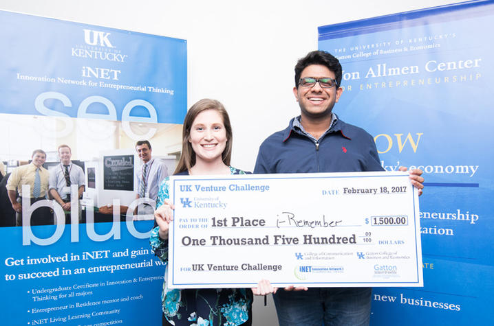 photo of Venture Challenge Winners