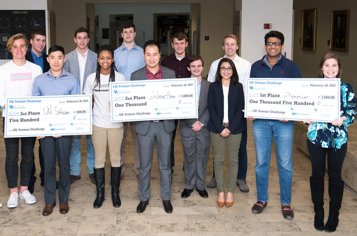 Photo of UK Venture Challenge teams