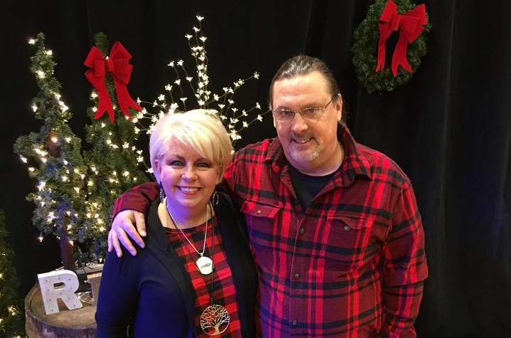 photo of Renee Collins Cobb and Warren Cobb