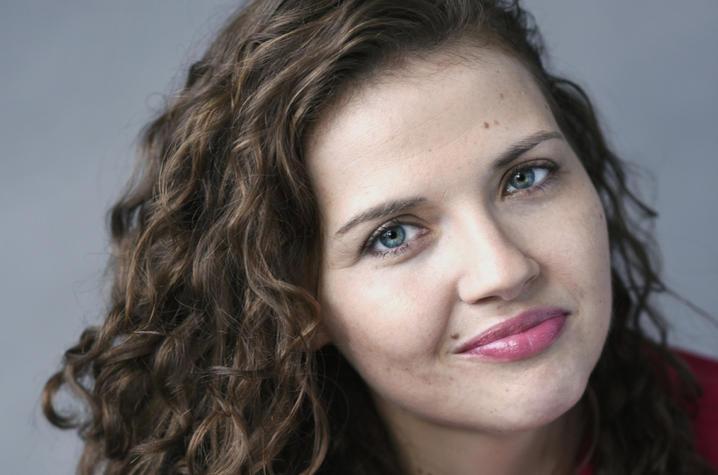 headshot photo of Kayla Rae Whitaker by Mark Bennington