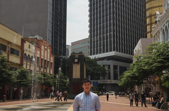 William Tan studied finance and economics in Malaysia