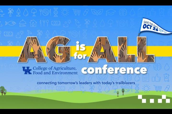 'Ag is for All' digital graphic
