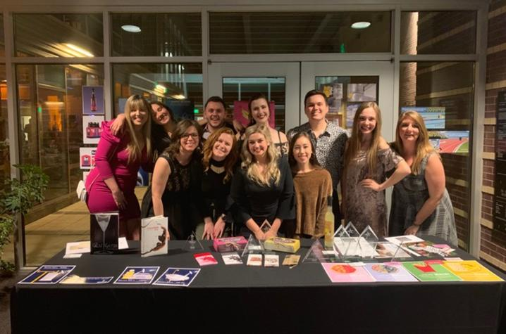 Student winners of the AAF Lexington Awards